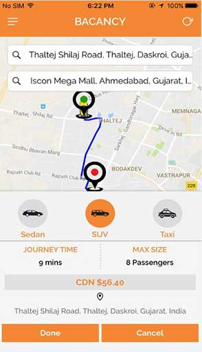Taxi Booking App Development Company,Taxi App Developers India
